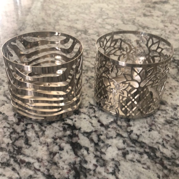 Candle Holders, Set of 2